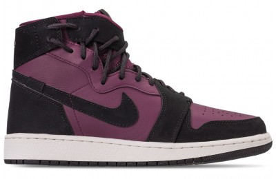 Air Jordan Women's 1 Rebel XX Casual Shoes - Bordeaux/Black
