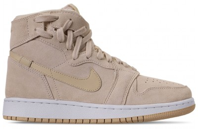 Air Jordan Women's 1 Rebel XX Casual Shoes - Light Cream/Desert/White